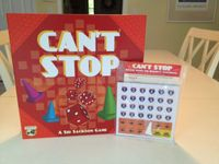 Board Game: Can't Stop: Rollin' Down the Highway