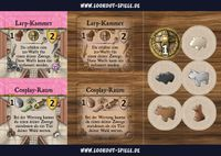 Board Game: Caverna: LARP and Cosplay Postcard
