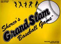 Board Game: Sherco's Grand Slam Baseball Game