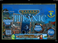 Video Game: Titanic: Hidden Expedition