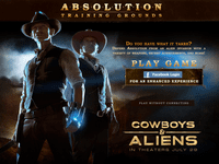 Video Game: Cowboys & Aliens: Absolution Training Grounds