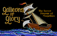 Video Game: Galleons of Glory: The Secret Voyage of Magellan