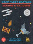 Board Game: Star Fleet Battles: Module D3 – Booms & Saucers