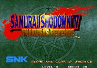 Video Game: Samurai Shodown IV