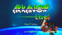 Video Game: Arkanoid Live!