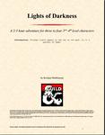 RPG Item: Lights of Darkness