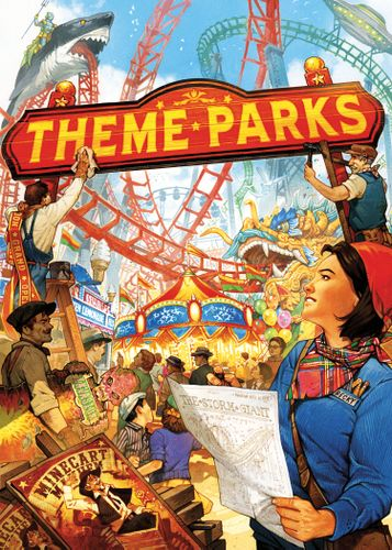 Board Game: Theme Parks