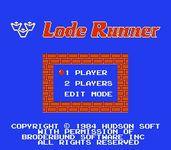 Video Game: Lode Runner