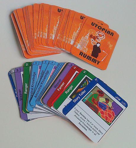 Board Game: Utopian Rummy