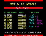 Video Game: Boris in the Underworld