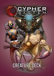 RPG Item: Cypher System Creature Deck