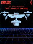 RPG Item: Ship Recognition Manual: The Klingon Empire (1st Edition)