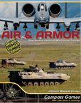 Board Game: Air & Armor: Operational Armored Warfare in Europe – Designer Signature Edition