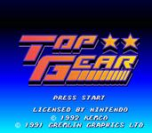 Video Game: Top Gear