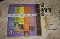 Board Game: BasketBoss