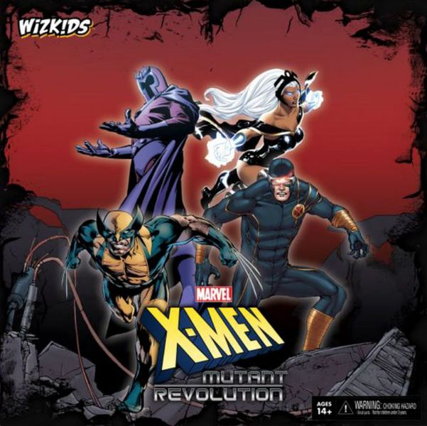 X-Men: Mutant Revolution, WizKids Games, 2015