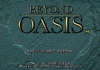 Video Game: Beyond Oasis
