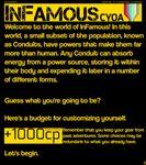 RPG Item: InFamous CYOA