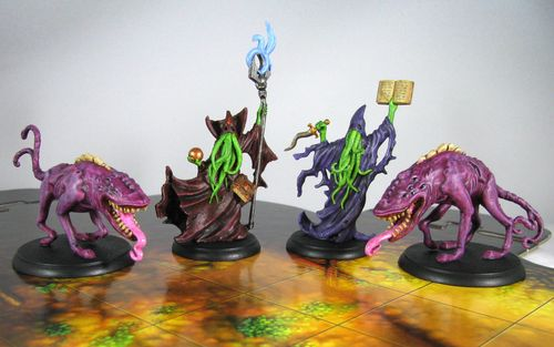Board Game: Shadows of Brimstone: Masters of the Void Deluxe Enemy Pack