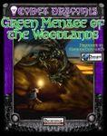 RPG Item: Codex Draconis #3: Green Menace of the Woodlands
