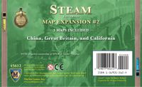 Board Game: Steam: Map Expansion #2