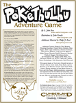 RPG Item: The Pokéthulhu Adventure Game (3rd Edition)
