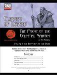 RPG Item: Classes of Legend: Priest of Celestial Spheres