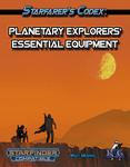 RPG Item: Starfarer's Codex: Planetary Explorers' Essential Equipment