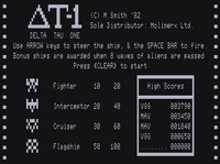 Video Game: Delta Tau One