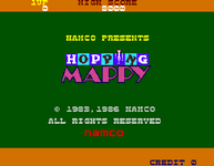 Video Game: Hopping Mappy