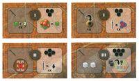 Board Game: Myrmes: Colony Tiles