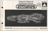 Board Game: Starfleet Wars: Observer's Directory & Identification Manual