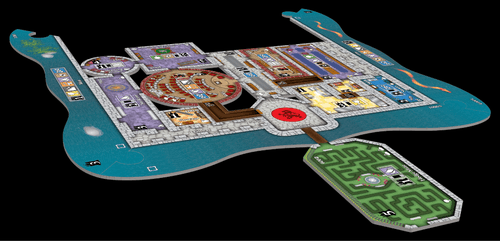 Board Game: Castles of Mad King Ludwig: Secrets
