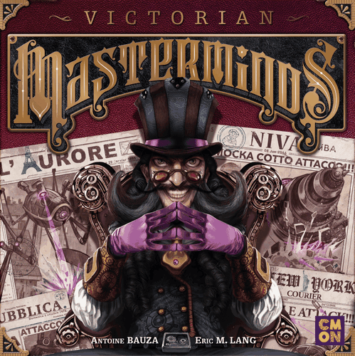 Board Game: Victorian Masterminds