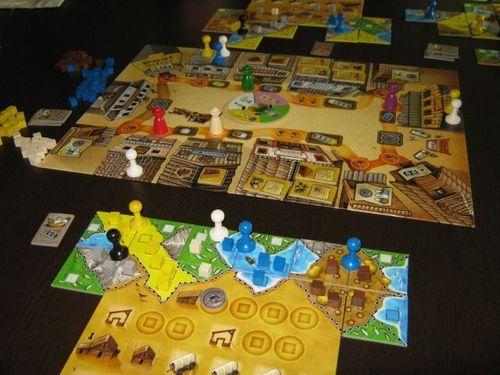 Board Game: Walnut Grove