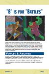 """RPG Item: """"B"""" is for """"Battles"""""""