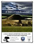 RPG Item: A Brother Lost