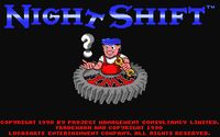 Video Game: Night Shift