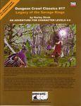 RPG Item: DCC #017: Legacy of the Savage Kings