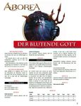RPG Item: Der Blutende Gott