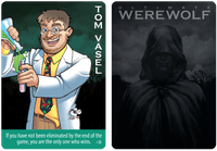 Board Game: Ultimate Werewolf: Deluxe Edition – Tom Vasel Promo