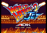 Video Game: World Heroes 2 Jet