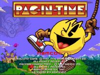 Video Game: Pac-in-Time