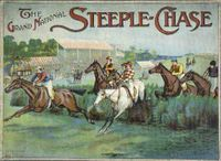 Board Game: Grand National Steeplechase Game