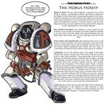 RPG Item: Lets use Panty Explosion Perfect to play The Horus Heresy