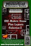 RPG Item: 1916 Modern House Plan Layouts Collection 2
