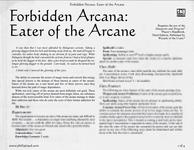 RPG Item: Eater of the Arcane