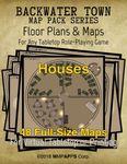 RPG Item: Backwater Town: Houses
