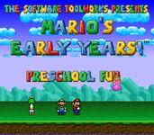Video Game: Mario's Early Years: Preschool Fun