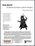RPG Item: Iron Secret